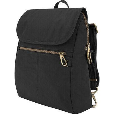 anti theft signature slim backpack 5 colors