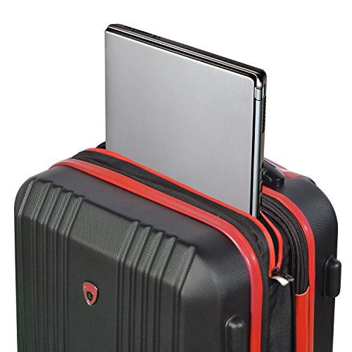 """Olympia Apache Ii 21"""" Carry-on Spinner,"""
