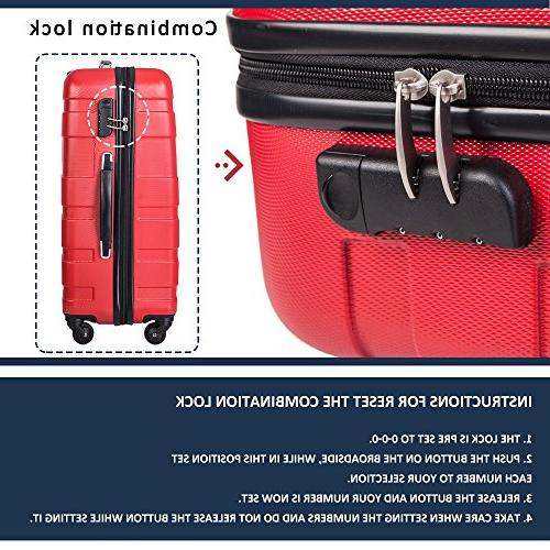Merax MT Imagine Piece Suitcase 20 24 28inch
