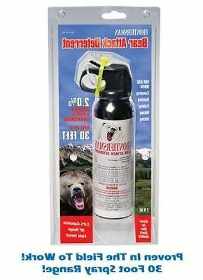 Frontiersman Bear Spray with Chest or Belt Holster– Easy A