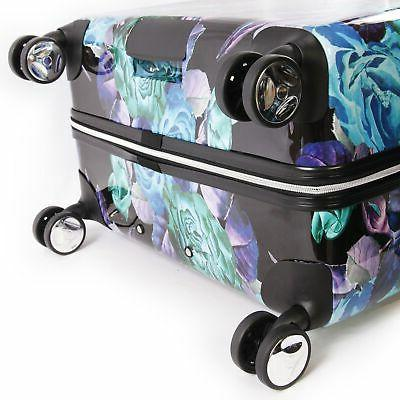 BEBE Rosette Spinner Luggage