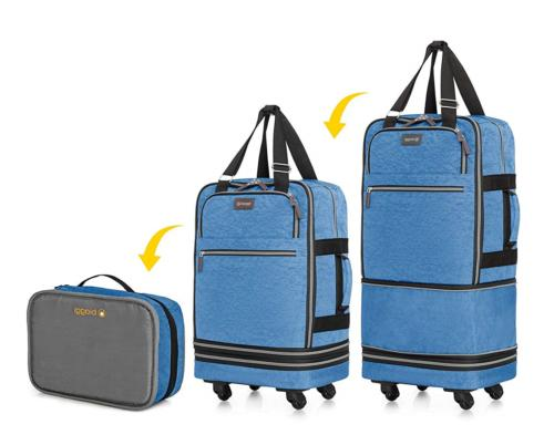 biaggi zipsak boost carry on suitcase compact