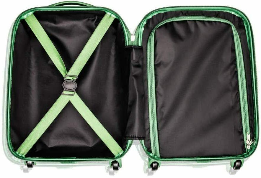 Marvel Black 18 On Luggage for Boys