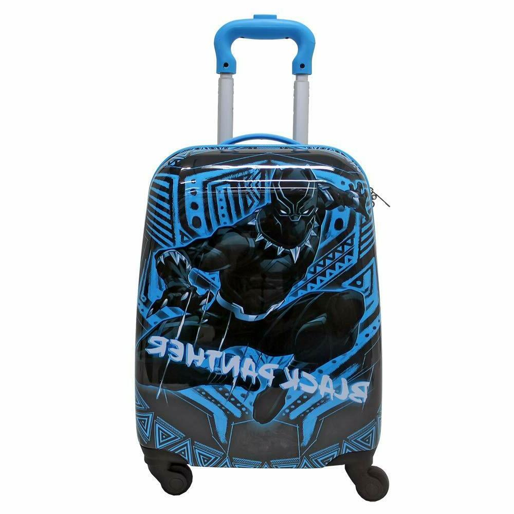 Black Inch Spinner Carry Travel Luggage