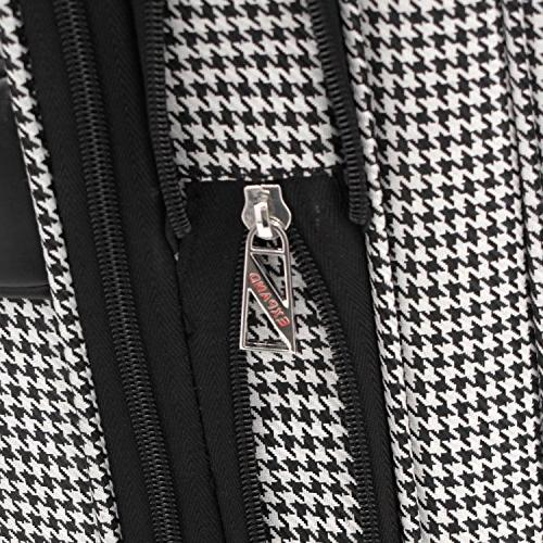 London Fog® Black and White Houndstooth Cambridge Ultra