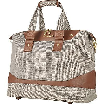 boracay brown lurex 18 inch duffle bag