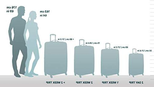 melbourne 20 expandable abs carry on grey