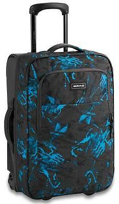 DaKine Carry On Roller 42L Luggage - Cyan Scribble - New