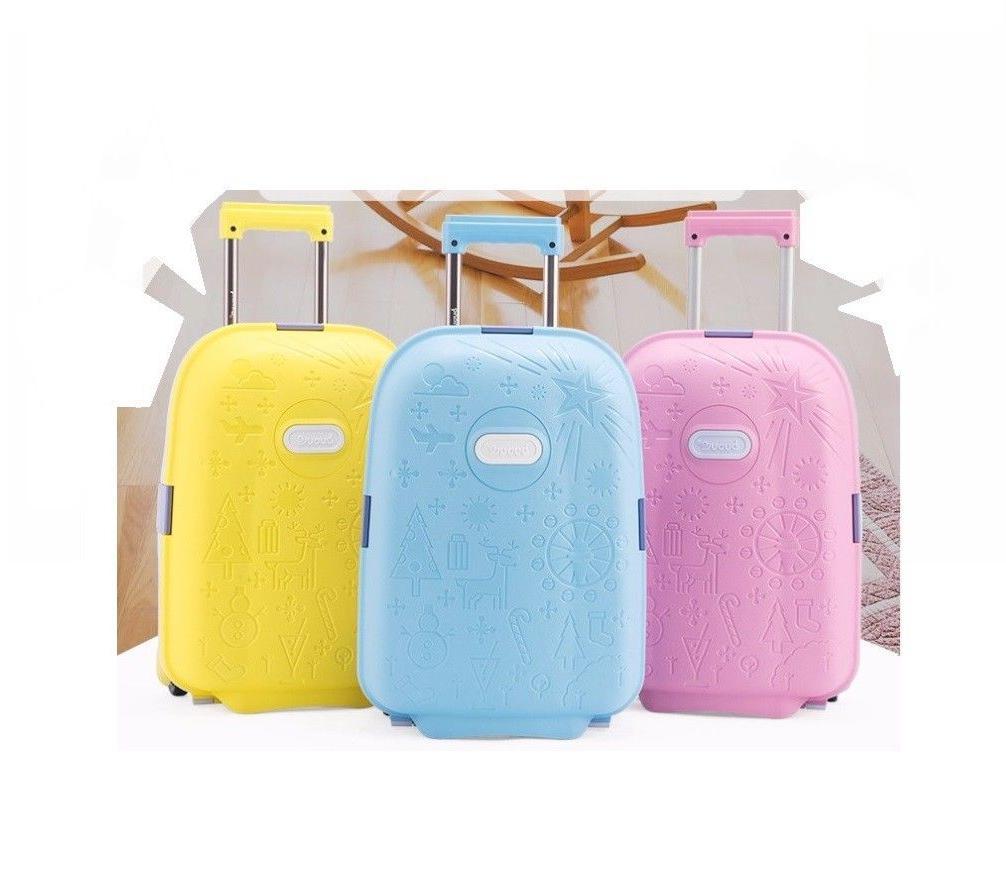 Children Unisex Luggage Bag Kids Rolling