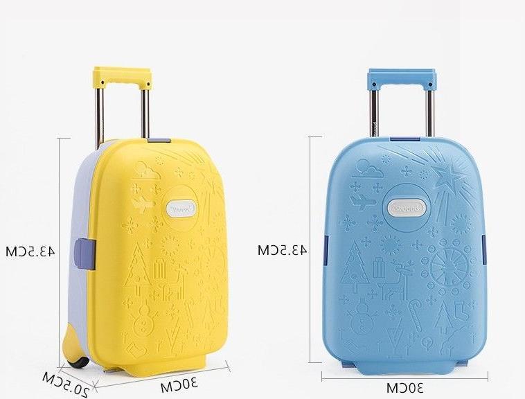Children Wheeled Travel Unisex Kids Bag