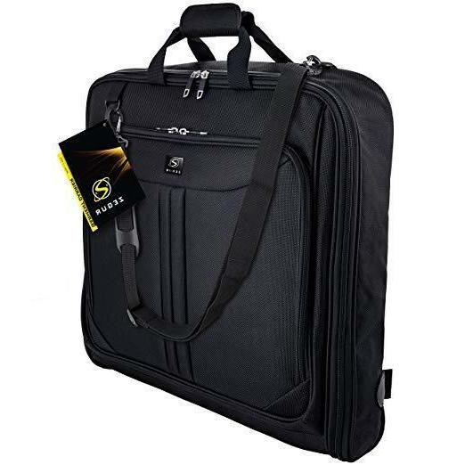deluxe suit carry on garment bag travel