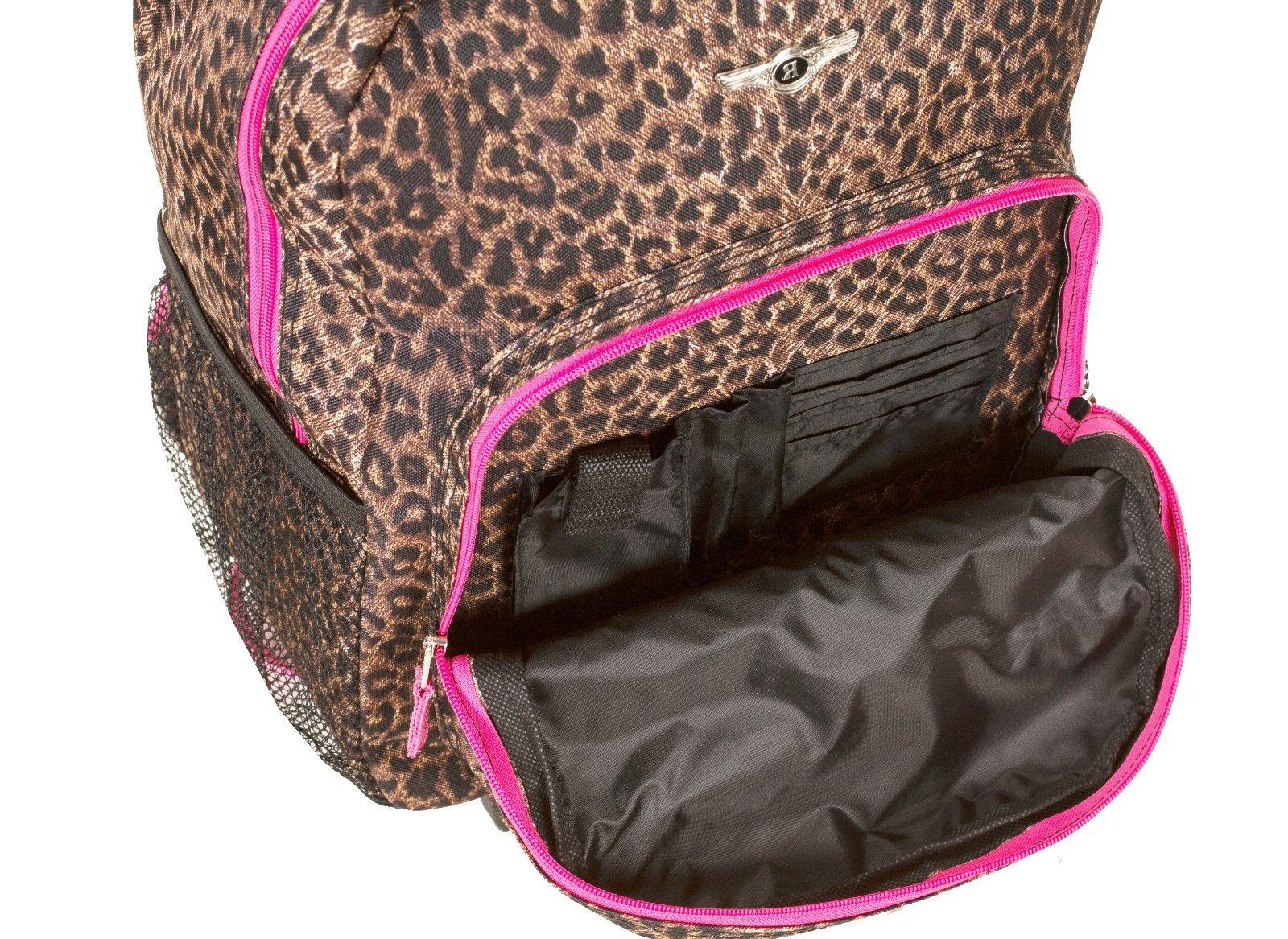 "Deluxe Wheel 17"" Travel Luggage Bag"