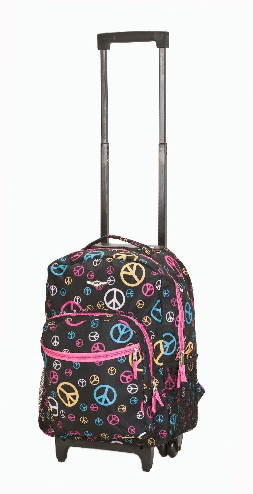 "Deluxe Backpack 17"" Travel Luggage Travel Bag"