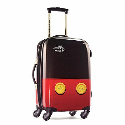 disney mickey mouse hardside spinner luggage