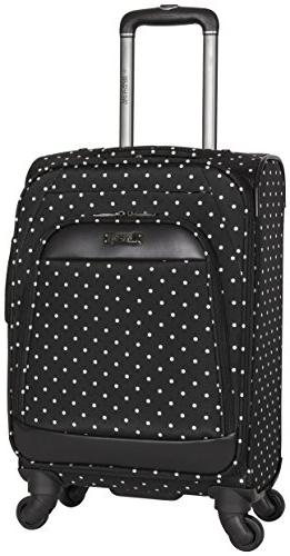 "Kenneth Reaction Matrix 20"" Dot Spinner Carry-on Luggage,"
