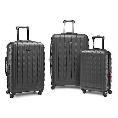 e volve dlx 3pc set luggage