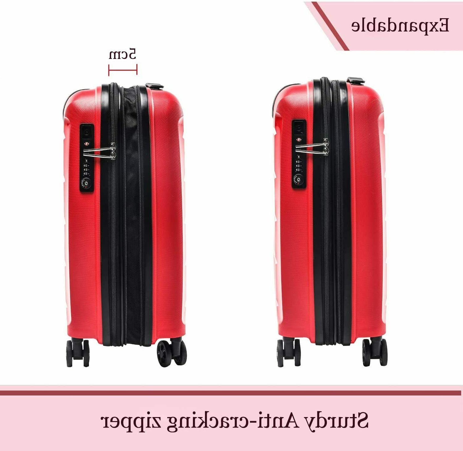 Inch Luggage Suitcase USB