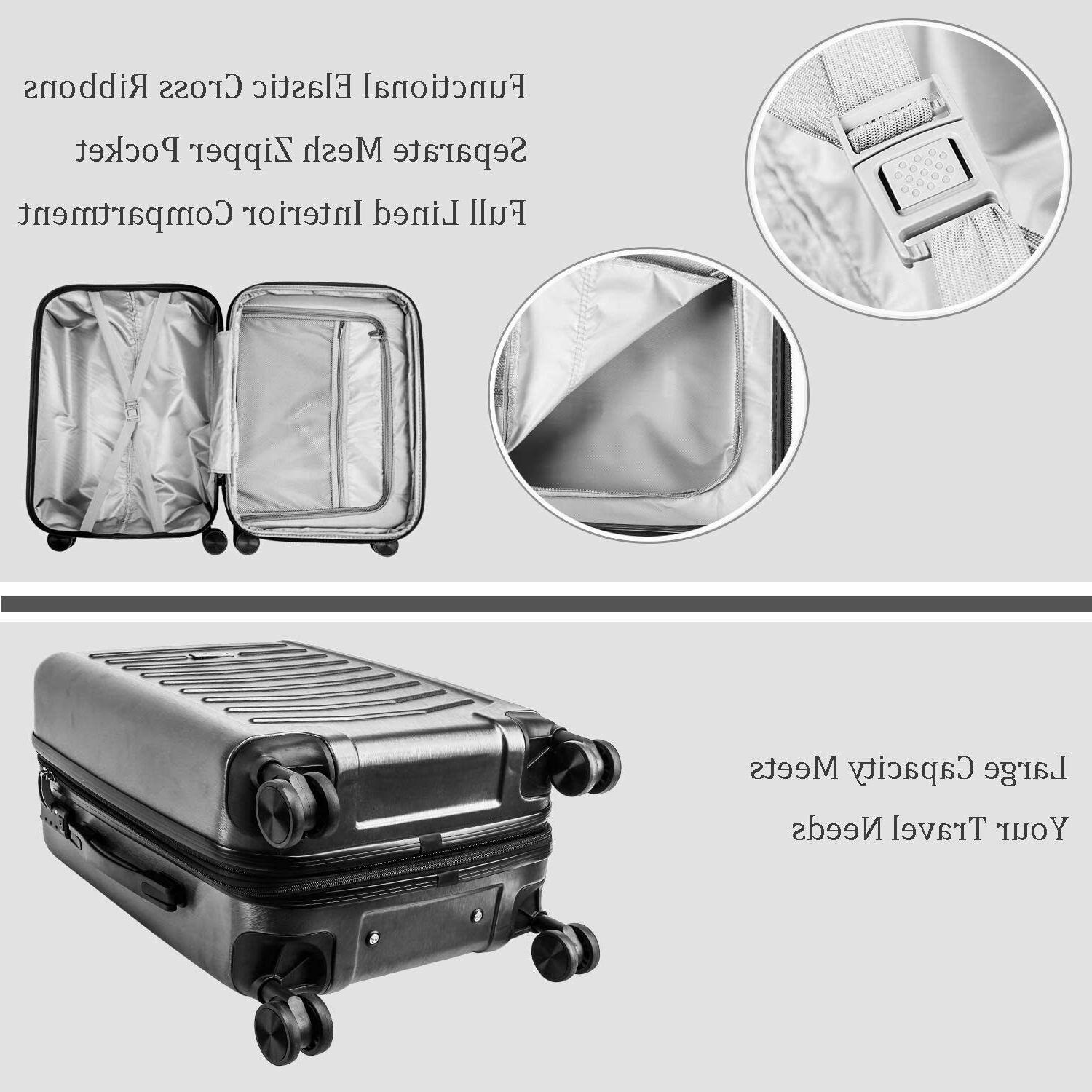 Travel Suitcase with Sile