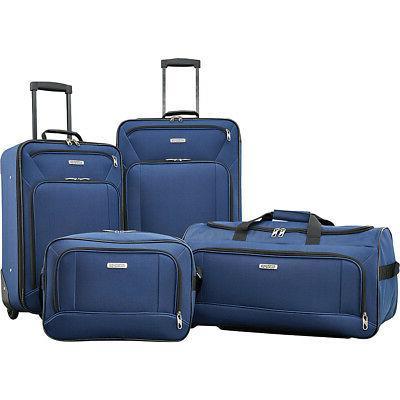 fieldbrook xlt 4 piece luggage set