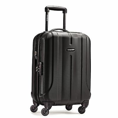 fiero 20 spinner black luggage
