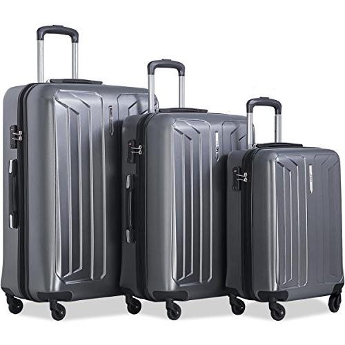 Flieks Luggage Set Spinner TSA Approved - Temperature Resistance -