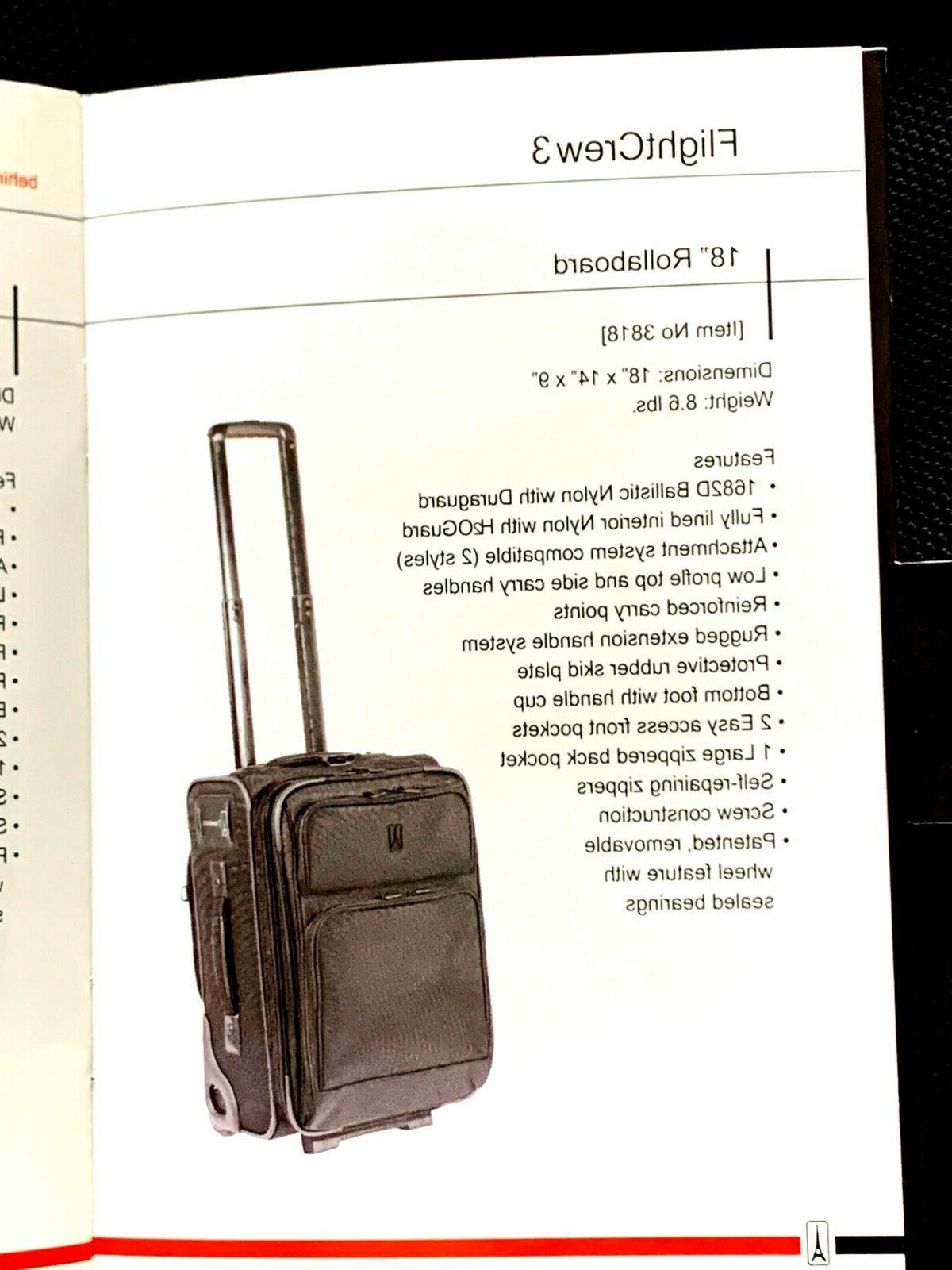 "TravelPro 18"" Suitcase,"