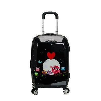 fox luggage 20 polycarbonate carry on night