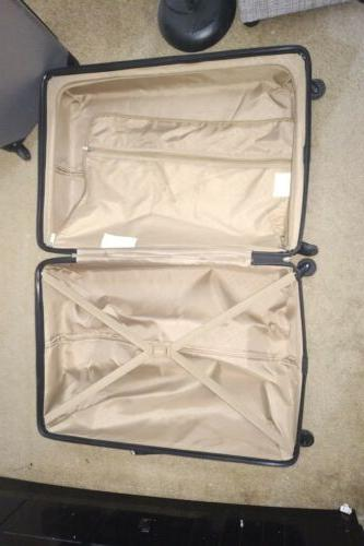 Samsonite luggage SET Silver Carry on inch