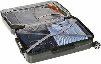 AmazonBasics Hardshell Luggage - 3-Piece Slate Grey
