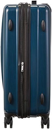 AmazonBasics Hardshell Spinner - 20-Inch, Blue