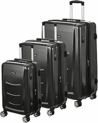 hardshell spinner luggage slate grey 3 piece
