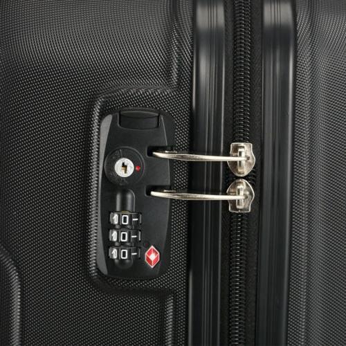 3 Trolley Travel Case Spinner Shell
