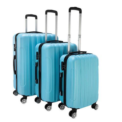 Hardside Spinner Luggage Set With TSA
