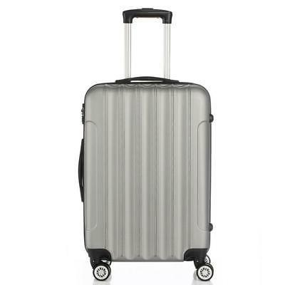 "3PCS 28"" Luggage Travel ABS Trolley Shell Suitcase TSA"