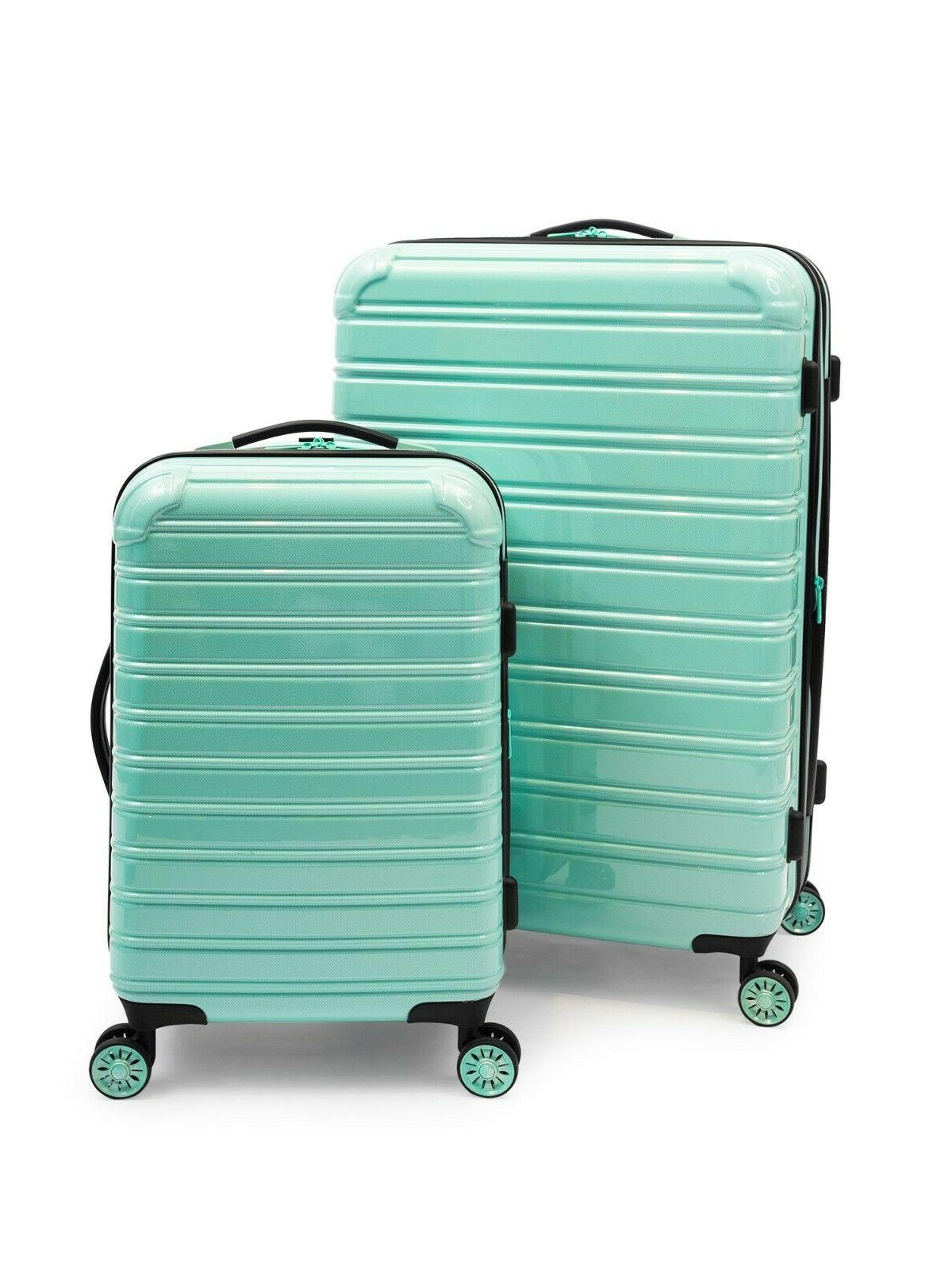 iFLY Hardside Fibertech Luggage, 2 Set