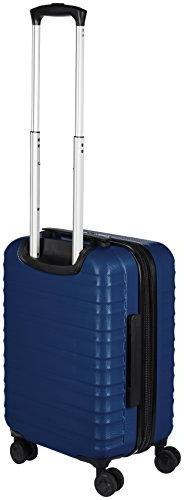 AmazonBasics Spinner Luggage - Piece , Navy Blue