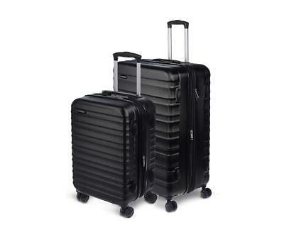 "AmazonBasics Hardside Spinner Luggage - 2 Piece Set 20"" 28"""
