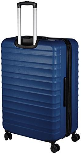 AmazonBasics Spinner Luggage - 28-Inch, Navy