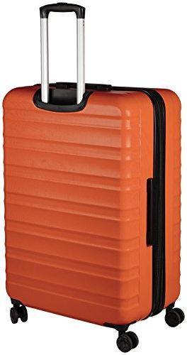 AmazonBasics Hardside Spinner - Orange