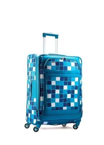 ilite max softside spinner 21 light blue