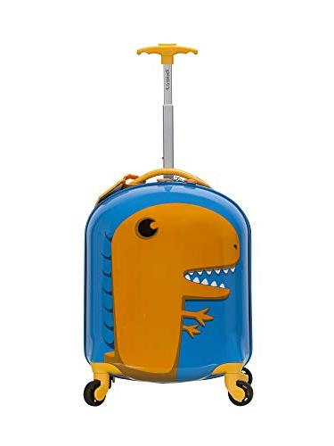Rockland My First Luggage-Polycarbonate Side Spinner, Dinosaur