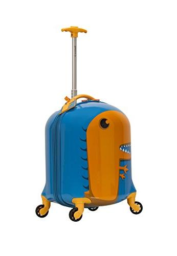 Rockland First Luggage-Polycarbonate Hard Spinner, Dinosaur