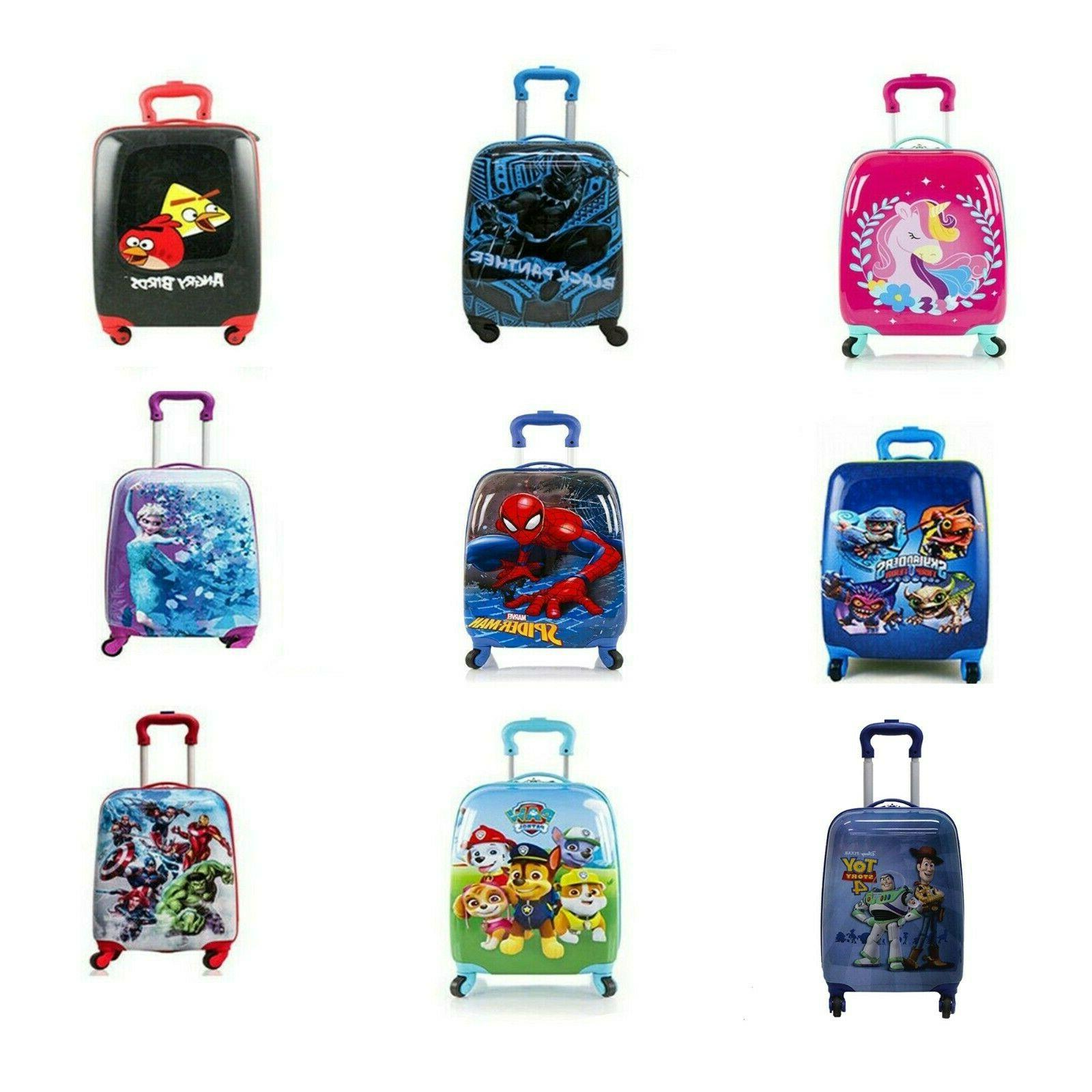 Kids Hard Side Carry-on Luggage Case for Boys/Girls Spinner
