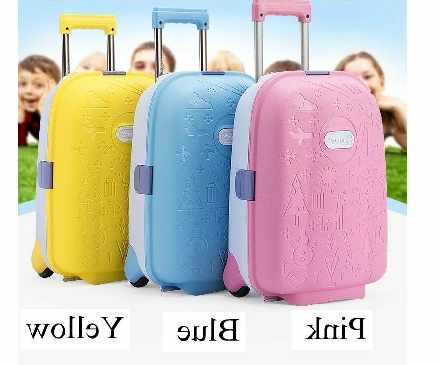 Spinner Solid Suitcase Wheeled Trolley