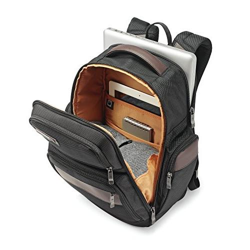 Samsonite Backpack, Black/Brown