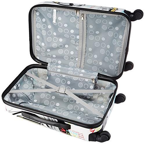 Rockland Las Vegas Hardside Carry-On Luggage -