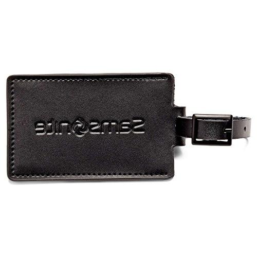 leather luggage id tags