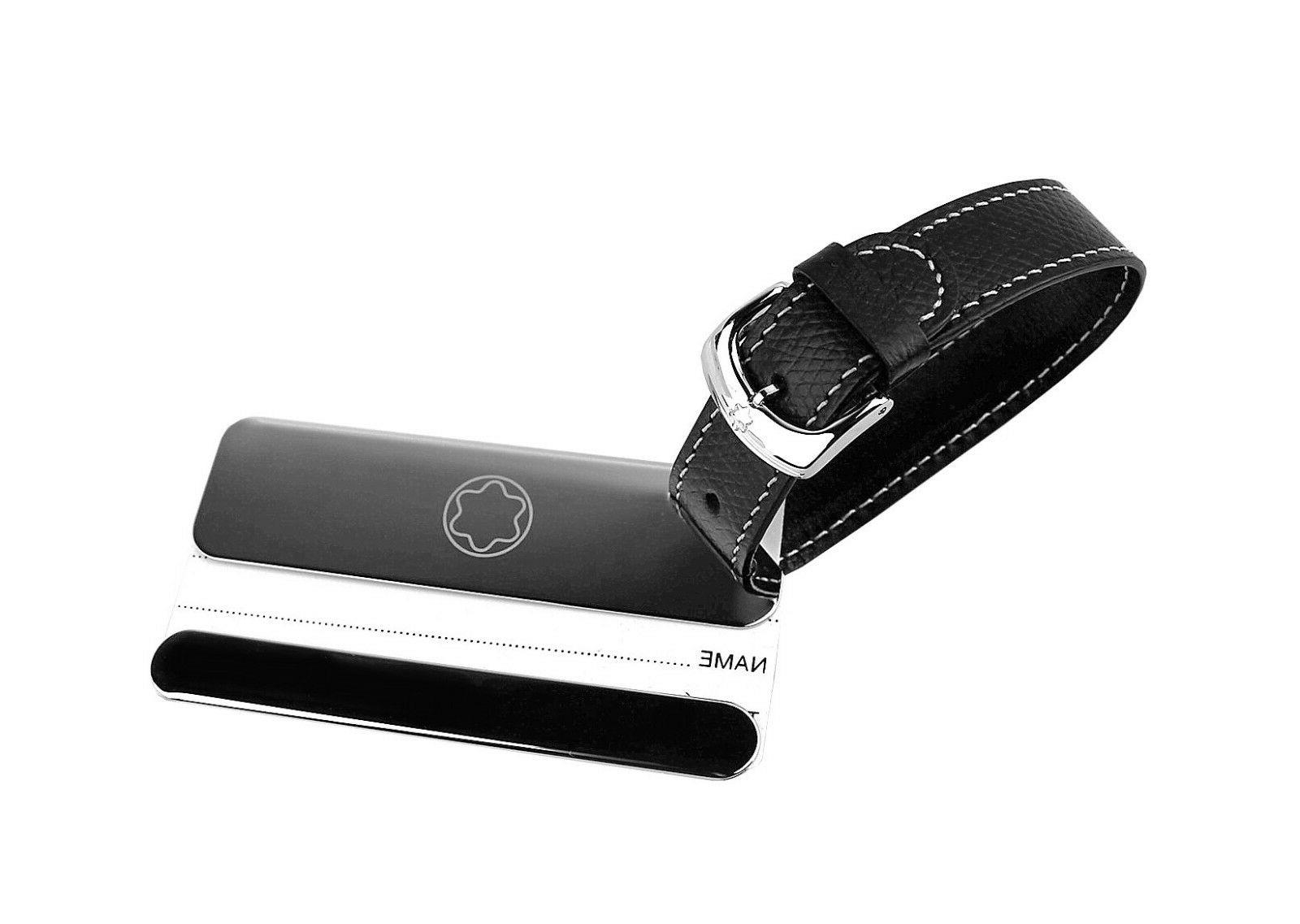 lifestyle accessories luggage tag steel and leather