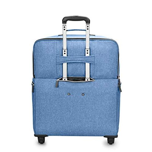 Biaggi Lift Expandable Carry-on in, Denim
