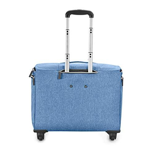 Biaggi Luggage in, Denim Blue